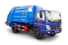 2017 Garbage truck Pressing gar