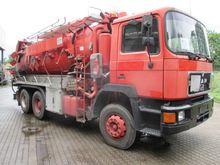 1994 MAN 26.322 6x4 Saugwagen/B