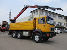 1997 MAN 26.403 6x4 tipper with