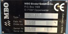 2001 MBO MBO-K-76-4 6963