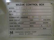 2000 Mazak Multiplex 6200Y 2721