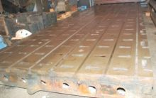 (2) T-Slotted Planer Table Floo