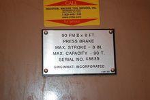 1996 Cincinnati 90 FMII-8 27426