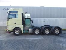 2012 MAN TGX 41.540 8x4 Heavy D