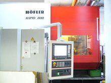 2008 HOEFLER Rapid 800 CNC