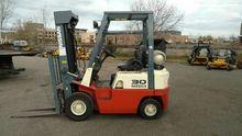 2002 Nissan Forklift PJ01A1PV