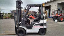 2010 Nissan Forklift PIF1A15D