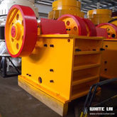 Supply jaw crusher for crushing