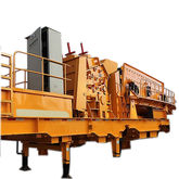 High efficiency mobile crusher