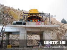 Hydraulic cone crusher (wlcc130