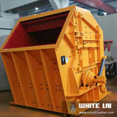 Hydraulic impact crusher for ro