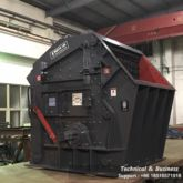 Mobile impact crushing plant, p