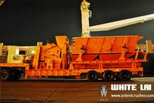 Mobile crushing and screening p