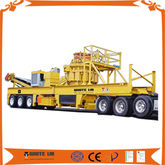 Mobile complete plant of rock c