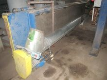 "10"" TUBULAR SCREW CONVEYOR, GAL"