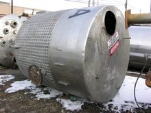 1600 GAL WILL FLOW KETTLE, S/S,