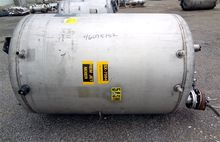 500 GAL 304 STAINLESS STEEL MIX