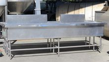 "128"" STAINLESS STEEL WASH TANKS"