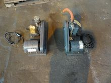 WELCH VACUUM PUMPS, MODEL 1399