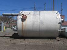 13500 Gal Dravo Tank, 304 S/S
