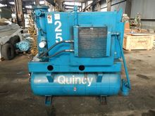 25 HP QUINCY AIR COMPRESSOR, MO