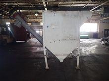 "Hopper with 8"" Screw Conveyor,"