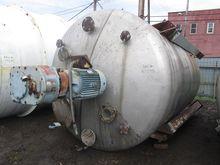 4500 GAL AGITATED TANK, S/S, 30