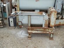 "8"" BONNOT TWIN SHAFT FEEDER, S/"