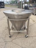 16 CU FT STAINLESS STEEL BIN