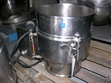 20 QUART GROEN KETTLE, S/S, 50#