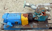 "2.5"" BLACKMER ROTARY VANE PUMP,"