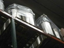 50 GAL STAINLESS STEEL DRUMS, (