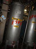 HWE 120 GAL RECEIVER, S/S, 25#