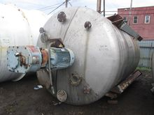 4500 GAL AGITATED TANK, S/S, 30
