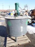 250 GAL STAINLESS STEEL MIX TAN
