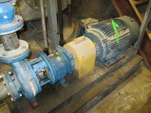 "4"" X 3"" GOULDS PUMP, S/S"