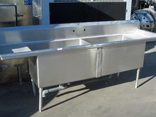 "106"" DUAL SINK WASH TABLE"