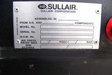 Sullair LS160 75 hp. Rotary Scr