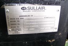 Sullair V160 75 hp. Rotary Scre