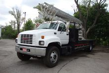 2000 GMC Topkick Sign truck wit