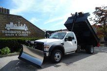 2008 FORD F-550 Hydraulic Dump