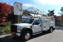 2008 FORD F-550 Ladder/bucket