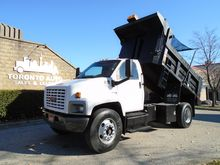 2007 GMC C8500 Steel dump body