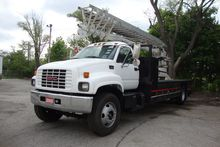 2000 GMC C7500 Sign truck with