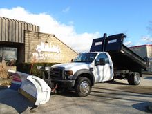 2009 FORD F550 Power plow