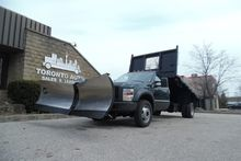 2008 FORD F-550 Dumping flatbed