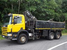 2003 Scania 4 Series P94 Tipper