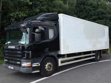 2001 Scania 4 Series P94 Box Va