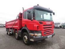 2011 Scania P Series P360 Tippe