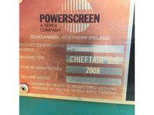 2008 CHIEFTAIN MEGA 600 Screen